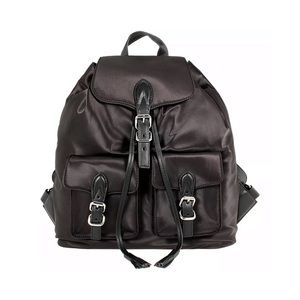 NWT! Rebecca Minkoff Alice Satin Nylon Backpack